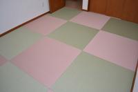 グリーン&ピンク