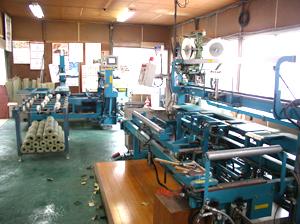 畳製造の設備
