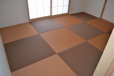 茶色の畳2